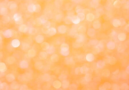 Photo pour Abstract orange background, texture with glowing effect bokeh - image libre de droit
