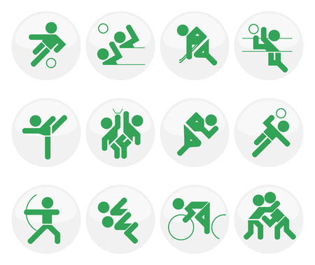 set of vector sport icons