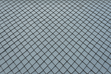 dirty grey roof tiles pattern as background image