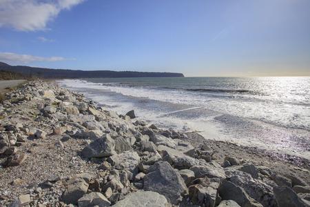 Photo pour bruce bay beach west coast south island new zealand - image libre de droit