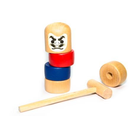 日本人積み上げダルマゲーム