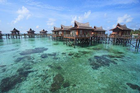 Mabul Island Resort, Sabah, Malaysa.