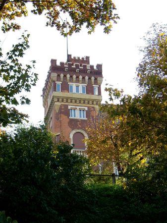 proud castle on the Gellert Hill, Budapest