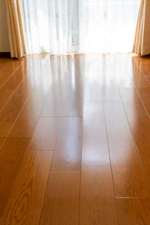 Photo for Wood flooring in the room - Royalty Free Image