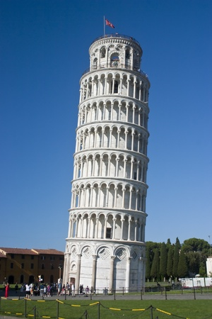 Tower of Pisa in Tuscany Italy