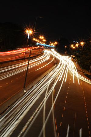 Highway Light Streak
