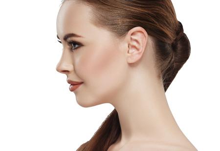 Foto de Profile of woman with beauty - Imagen libre de derechos