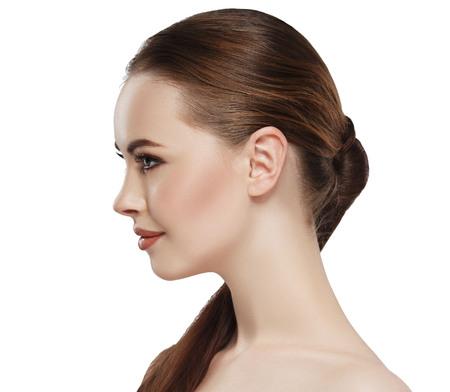 Foto für Profile of woman with beauty skin - Lizenzfreies Bild