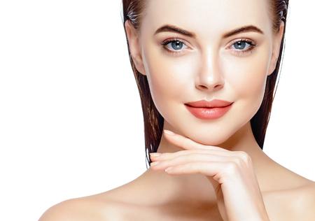 Foto del Beautiful Woman Face Portrait - ID:79159363 - Imagen libre de  regalías - Stocklib