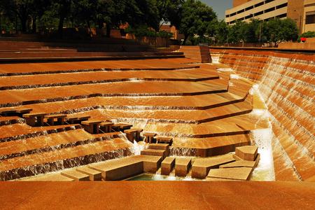 Foto für Ft Worth Water Garden - Lizenzfreies Bild