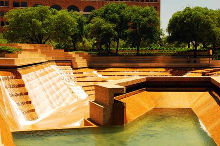 Foto für The Watergarden in Downtown Ft Worth Texas - Lizenzfreies Bild