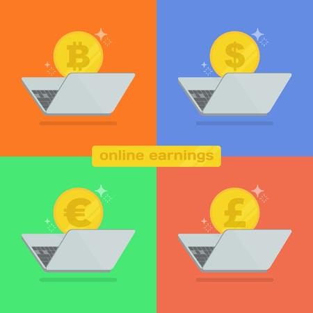 different online currencies