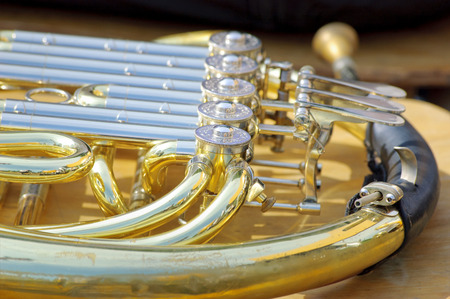 French horn background