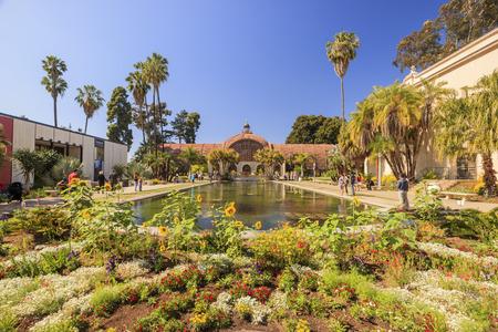 San Diego Balboa Park Botanical Building at San Diego, California