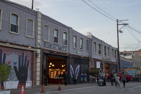 Los Angeles, JAN 16: The Art District on JAN 16, 2017 at Los Angeles, California