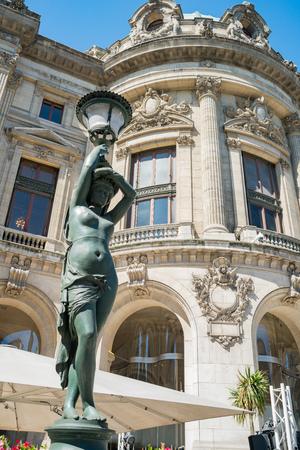 Paris, MAY 7: Exterior view of the Palais Garnier on MAY 7, 2018 at Paris, France