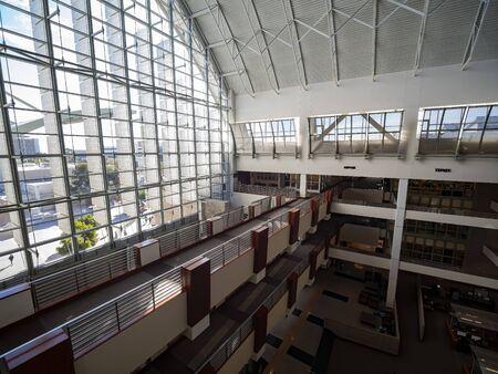 Las Vegas, FEB 12: Interior view of the UNLV Lied Library on FEB 12, 2020 at Las Vegas, Nevada