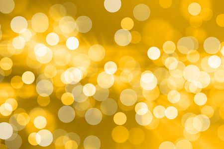 Photo pour Blurred Lights on yellow background or Lights on yellow background. - image libre de droit