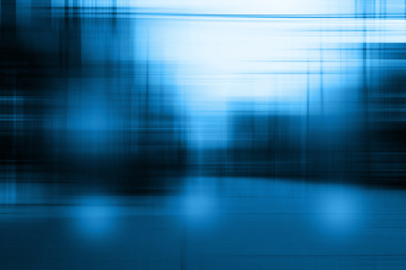 Photo pour Blue blurred abstract background - image libre de droit