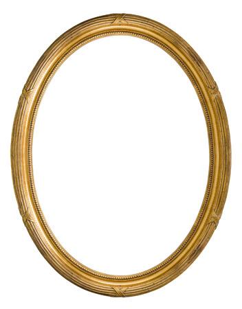 Vintage Retro old golden color wooden Picture Frame