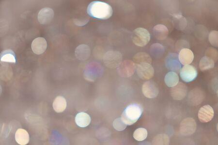 Photo pour Warm tone bokeh made from bubbles - image libre de droit