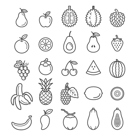Fruits Icons.