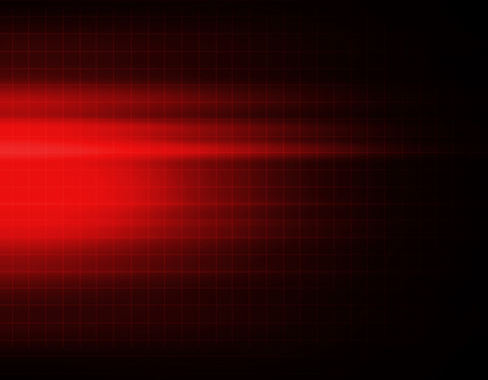 Red abstract technology background