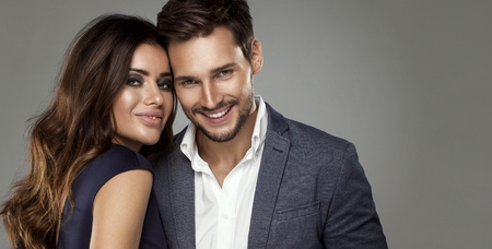 Portrait of attractive couple