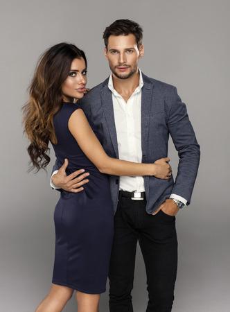 Portrait of sexy couple
