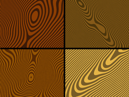 Wood textures - vector