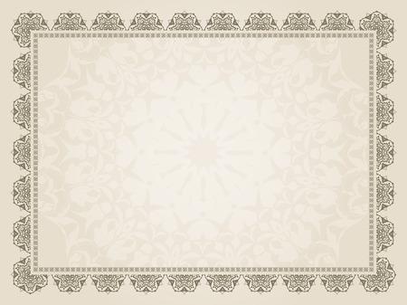Photo pour Decorative background of a certificate design - image libre de droit