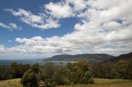 Summer Landscape. The Great Lake, Tasmania, Australia