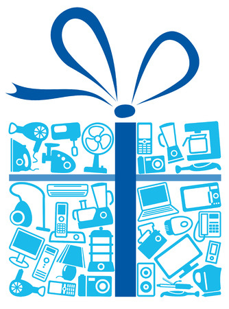 Home appliances in gift