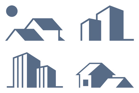 Simple symbols of real estate