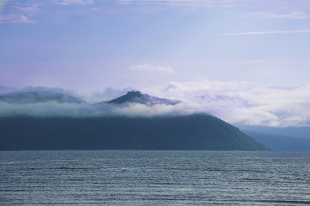 Mountains at the sea