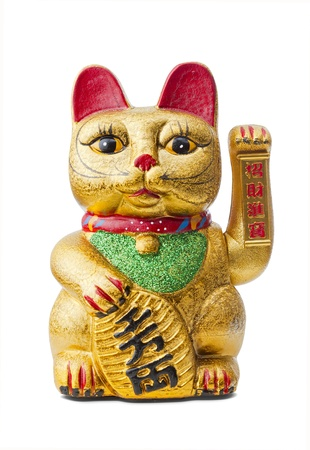 The Maneki Neki is an ancient cultural icon from japan and popular in many asian cultures.