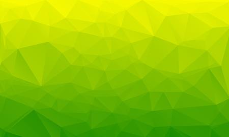 Illustration pour Salad green abstract polygonal geometric background -- low poly. Vector illustration - image libre de droit