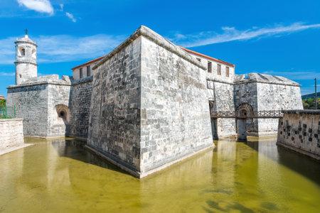 Ancient spanish castle in Old Havana