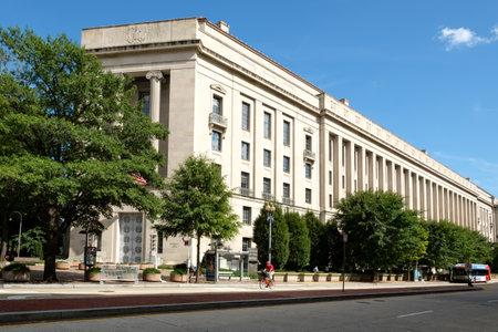Foto für The United States Department of Justice in Washington D.C. - Lizenzfreies Bild