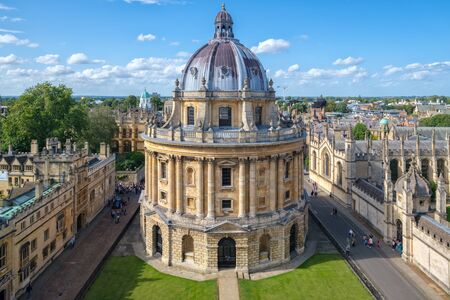 Photo pour The Radcliffe Camera, a symbol of the University of Oxford - image libre de droit