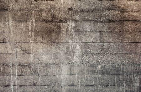 Photo pour Texture of dark gray brick wall. - image libre de droit