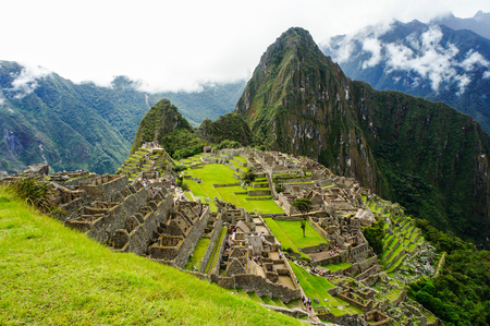 Machu Picchu, One of the New Seven Wonders of the World in Peru, UNESCO announced it to be the World Heritage Site in 1983.