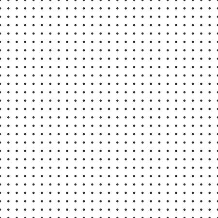 Illustration pour Dot grid vector paper graph paper on white background . - image libre de droit