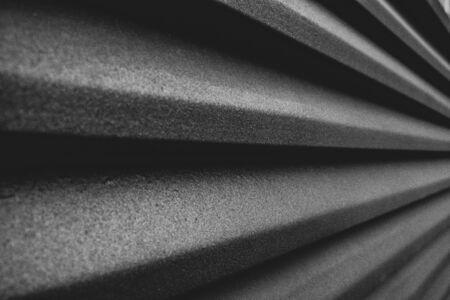 Perspective metallic texture