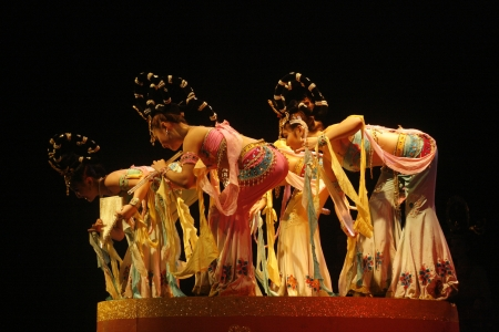 theatre of dancing in Xi'an / Xian, China