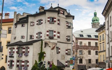 Ottoburg in the old town of Innsbruck, Tyrol