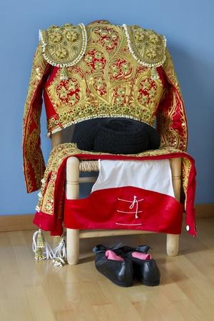 Bullfighter dress, ready to wear