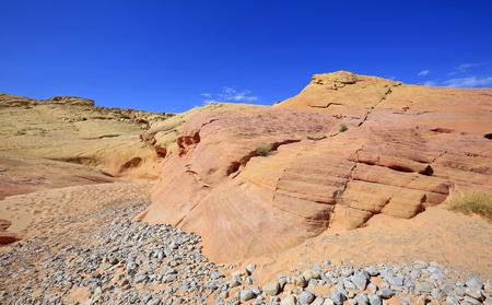 Orange pink rock - Valley of Fire SP, Nevada