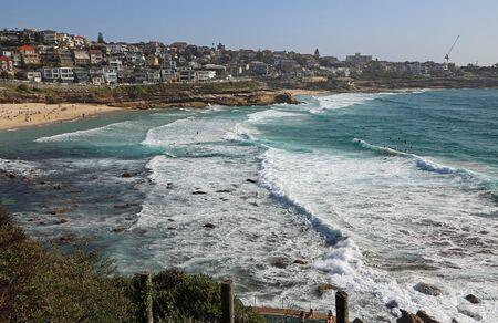 Photo pour View at Bronte Beach Bay, NSW, Australia - image libre de droit