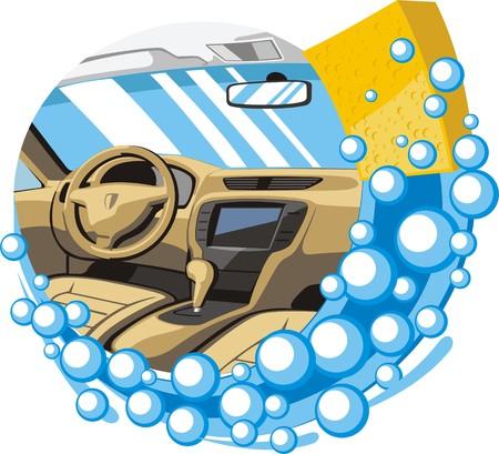 car interior wash and clean